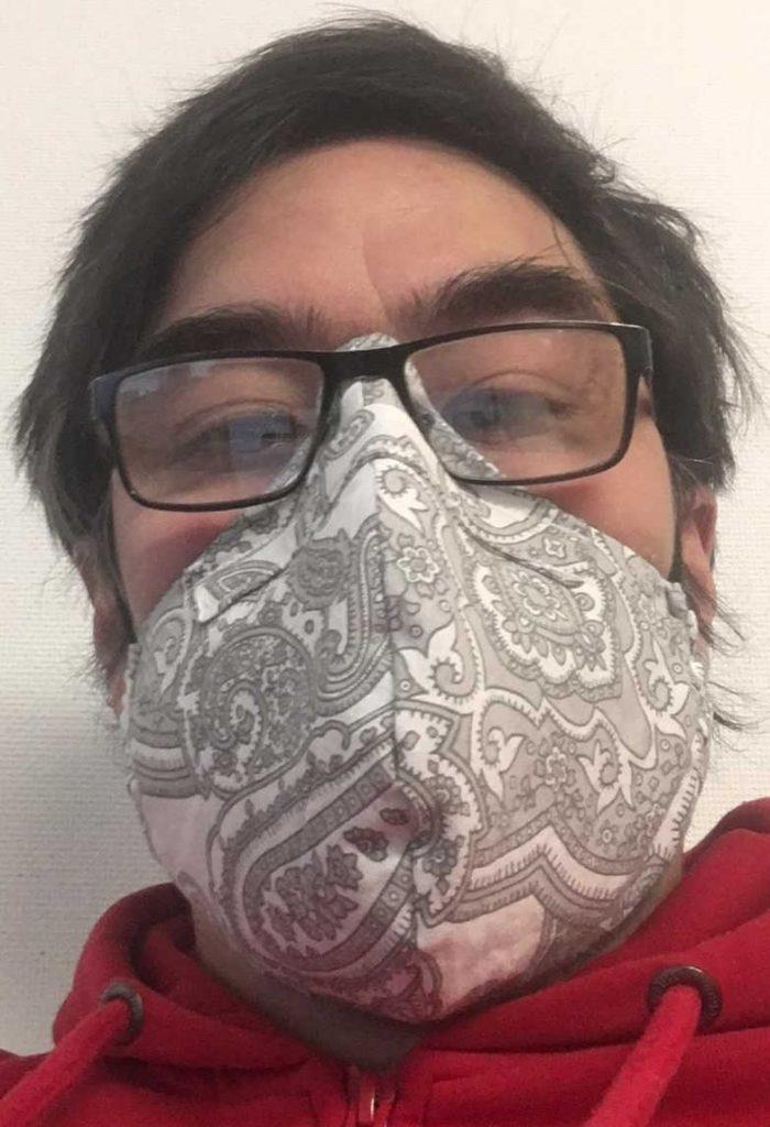 Masken Brillenträger